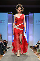 """""""Flair"""" runway show during St. Charles Fashion Week in St. Charles, MO on Aug 23, 2012."""