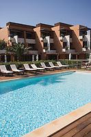 Europe/France/Corse/2B/Haute-Corse/St Florent: Hotel La Roya la piscine