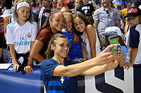 Sandy, Utah - Thursday June 07, 2018: USWNT during an international friendly match between the women's national teams of the United States (USA) and China PR (CHN) at Rio Tinto Stadium.