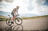 Niklas Eg (DEN/Trek-Segafredo) up the finish climb & the highest peak of the 2020 #TdF: the Col de la Loze (HC/2304m/21,5km @7,8%)<br /> <br /> Stage 17 from Grenoble to Méribel - Col de la Loze (170km)<br /> <br /> 107th Tour de France 2020 (2.UWT)<br /> (the 'postponed edition' held in september)<br /> <br /> ©kramon