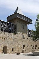 Europe/France/Languedoc-Rousillon/Aude/Carcassonne: La Cité - Le Château Comtal