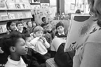 Storytime, Vittoria Primary School, Islington, London.  1970.