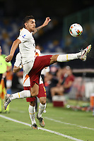 Roger Ibanez Da Silva AS Roma in action<br /> during the Serie A football match between SSC  Napoli and AS Roma at stadio San Paolo in Naples ( Italy ), July 05st, 2020. Play resumes behind closed doors following the outbreak of the coronavirus disease. <br /> Photo Cesare Purini / Insidefoto