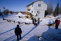 Ed Iten Leaves Galena Checkpoint Alaska