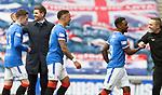 02.05.2021 Rangers v Celtic: Steven Gerrard at full time