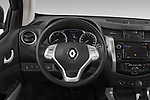 Car pictures of steering wheel view of a 2018 Renault Alaskan Denali 4 Door Pick Up