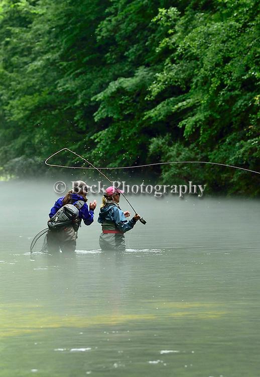 Fly fishing in Slovenia