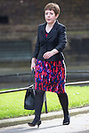 © Joel Goodman - 07973 332324 . 11/05/2015 . London , UK . BARONESS STOWELL OF BEESTON ( Tina Stowell ) , Leader of the House of Lords , arrives at 10 Downing Street this morning (11th May 2015) . Photo credit : Joel Goodman
