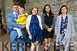 Laura Jewula former student of Presentation NS receiving her Confirmation in St John's Church on Sunday. L to r: Bolek , Milena and Laura Jewula, Natalia Szczygilek and Dorota Balicka.