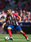 Jorge Resurreccion Merodio, Koke (r), of Atletico de Madrid in action during the La Liga 2017-18 match between Atletico de Madrid and Sevilla FC at the Wanda Metropolitano on 23 September 2017 in Madrid, Spain. Photo by Diego Gonzalez / Power Sport Images