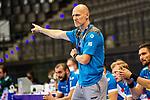 Karsten Schaefer (Co-Trainer TVB Stuttgart) ; BGV Handball Cup 2020 Finaltag: TVB Stuttgart vs. FRISCH AUF Goeppingen am 13.09.2020 in Stuttgart (PORSCHE Arena), Baden-Wuerttemberg, Deutschland<br /> <br /> Foto © PIX-Sportfotos *** Foto ist honorarpflichtig! *** Auf Anfrage in hoeherer Qualitaet/Aufloesung. Belegexemplar erbeten. Veroeffentlichung ausschliesslich fuer journalistisch-publizistische Zwecke. For editorial use only.