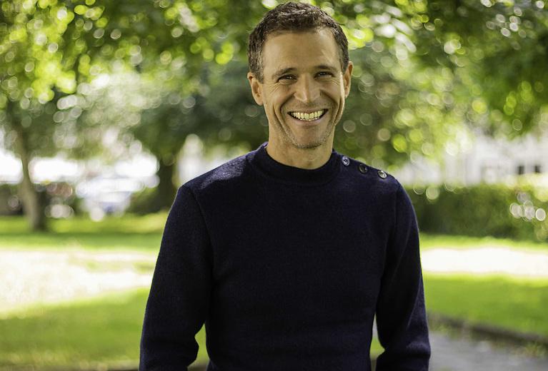 Eoin Warner, presenter of TG4's new series, An Cuan