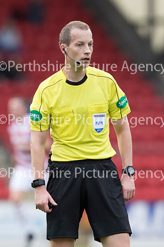 St Johnstone v Hamilton Accies…23.09.17…  McDiarmid Park… SPFL<br />Referee Willie Collum<br />Picture by Graeme Hart. <br />Copyright Perthshire Picture Agency<br />Tel: 01738 623350  Mobile: 07990 594431