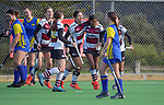 Bay Of Plenty v North Harbour 2. 2021 National Women's Under-18 Hockey Tournament day three at National Hockey Stadium in Wellington, New Zealand on Tuesday, 13 July 2021. Photo: Dave Lintott / lintottphoto.co.nz https://bwmedia.photoshelter.com/gallery-collection/Under-18-Hockey-Nationals-2021/C0000T49v1kln8qk