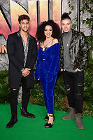 "The Cutkelvins<br /> arriving for the ""Jumanji: Welcome to the Jungle"" premiere at the Vue West End, Leicester Square, London<br /> <br /> <br /> ©Ash Knotek  D3358  07/12/2017"