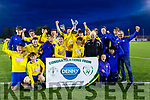 Killorglin Afc winners of Dominos Pizza U17 Cup after having defeating Listowel Celtic