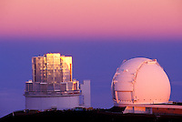 Observatories on Mauna Kea,  Big Island of Hawaii
