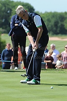 James Nesbitt of Team Ireland during the Bulmers 2018 Celebrity Cup at the Celtic Manor Resort. Newport, Gwent,  Wales, on Saturday 30th June 2018<br /> <br /> <br /> Jeff Thomas Photography -  www.jaypics.photoshelter.com - <br /> e-mail swansea1001@hotmail.co.uk -<br /> Mob: 07837 386244 -