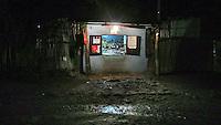 Addis Abeba, etiopia, bar by night.