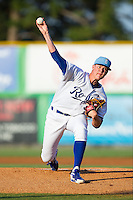 at Burlington Athletic Park on July 11, 2014 in Burlington, North Carolina.  The Rays defeated the Royals 5-3.  (Brian Westerholt/Four Seam Images)