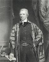 William Pitt, William Derby, (1786-1847 British), Engraving after Hoppner