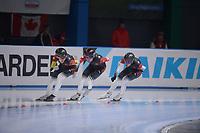 SPEEDSKATING: 24-11-2019 Tomaszów Mazowiecki (POL), ISU World Cup Arena Lodowa, Team Pursuit Men Division B (CHN), ©photo Martin de Jong