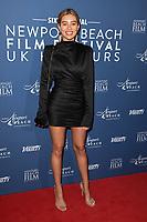 Montana Brown<br /> arriving for the Newport Beach Film Festival UK Honours 2020, London.<br /> <br /> ©Ash Knotek  D3551 29/01/2020