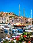Italien, Toskana, Insel Elba, Portoferraio: Hafen | Italy, Tuscany, Elba Island, Portoferraio: Harbour