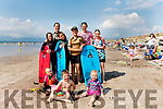 At Rossbeigh Beach on Tuesday<br /> Back L-R Megan, Nuala, Donnacha & Finnan Quigg, Deirdre & Clodagh Hoare.<br /> Front L-R Naidín Quigg, Michael & Shannon Hoare.<br /> <br /> <br /> Audio: 20200811_160408.m4a