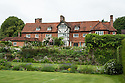 Upton Grey, the house seen from the Tennis Lawn, mid July.