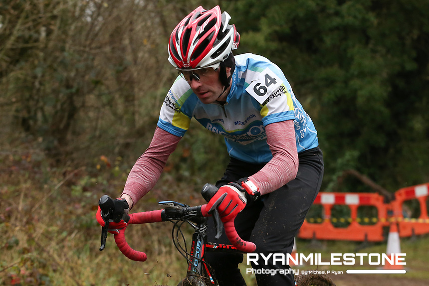 EVENT:<br /> Round 5 of the 2019 Munster CX League<br /> Drombane Cross<br /> Sunday 1st December 2019,<br /> Drombane, Co Tipperary<br /> <br /> CAPTION:<br /> Thomas Hayes of Revolution Cycling Club in action during the B Race<br /> <br /> Photo By: Michael P Ryan