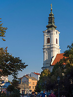 Kirche Mariä Himmelfahrt - Upenska Crkva in Novi Sad = Neusatz, Vojvodina, Serbien, Europa<br /> Church of the Assumption of Mary-Upenska Crkva in Novi Sad, Vojvodina, Serbia, Europe