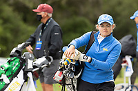 STANFORD, CA - APRIL 25: Annabel Wilson at Stanford Golf Course on April 25, 2021 in Stanford, California.