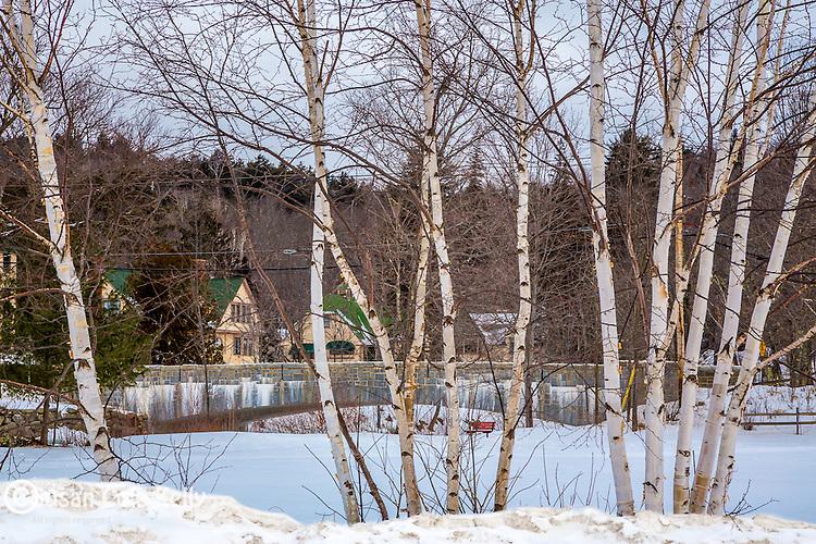 Jackson village in Jackson, New Hampshire, USA