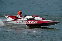 """Bill McTague, N-56 """"Just-a-Pest"""" (225 class hydroplane)"""