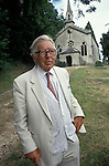 Laurie Lewis. Slad Church Gloucestershire. 1994, 1990s,