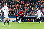 Fred Rodrigues of Manchester United (C) in action during the UEFA Champions League 2018-19 match between Valencia CF and Manchester United at Estadio de Mestalla on December 12 2018 in Valencia, Spain. Photo by Maria Jose Segovia Carmona / Power Sport Images