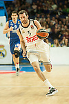 Real Madrid´s Rudy Fernandez during 2014-15 Euroleague Basketball match between Real Madrid and Anadolu Efes at Palacio de los Deportes stadium in Madrid, Spain. December 18, 2014. (ALTERPHOTOS/Luis Fernandez)