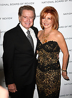 Regis Philbin dies at 88 - 12 January 2010 - New York, NY - Regis Philbin and Joy Philbin.  National Board of Review of Motion Picture Awards Gala held at Cipriani 42nd Street. Photo Credit: Paul Zimmerman/AdMediaRegis Philbin dies at 88