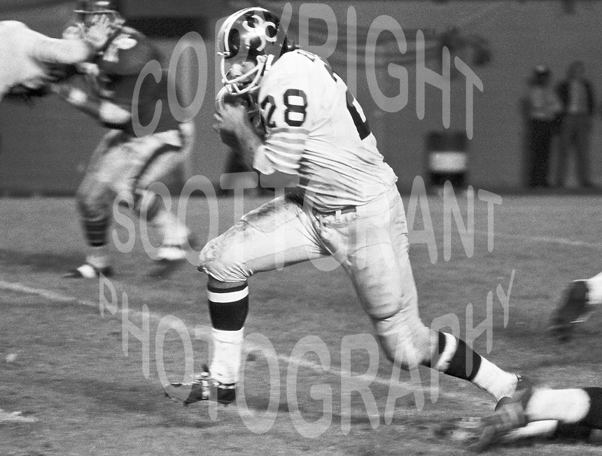 Jim Evenson BC Lions running back 1971. Copyright photograph Scott Grant