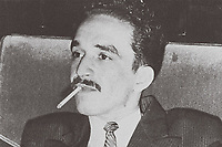Gabriel Garcia Marquez, 1949<br /> Gabriel José de la Concordia García Márquez (1927–2014) was a Colombian novelist, short-story writer, screenwriter and journalist, known affectionately as Gabo or Gabito throughout Latin America.