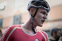 Julius Johansen (DEN) is the new Junior Men Road World Champion<br /> <br /> Men Junior Road Race<br /> <br /> UCI 2017 Road World Championships - Bergen/Norway