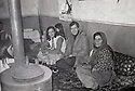 Iran 1980  in the village of Barbaran, near Ghassemlou, Hassan Shatavi and left, Nina , his sister and right a cousin  <br /> <br /> Iran 1980 A Barbaran, Hassan Shatavi  , a sa gauche, Nina sa soeur et a sa droite une cousine