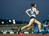 10th June 2021; Stadio Luigi Ridolfi, Florence, Tuscany, Italy; Muller Diamond League Grand Prix Athletics, Florence and Rome; Laura Muir strides in the final lap but finishes third