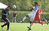Portland, OR - Wednesday August 09, 2017: Bryan Reynolds, Jr. during friendly match between the USMNT U17's and Chile u17's at Nike World Headquarters in Portland, OR.