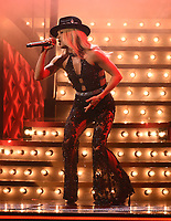 NASHVILLE, TN - NOVEMBER 13: Carrie Underwood performs on the 53rd Annual CMA Awards at the Bridgestone Arena on November 13, 2019 in Nashville, Tennessee. (Photo by Frank Micelotta/PictureGroup)