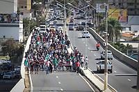 14/07/2021 - PROTESTO DE TRABALHADORES DE CONSTRUORA DE CAMPINAS