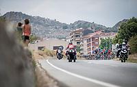 peloton<br /> <br /> Stage 3: Ibi. Ciudad del Juguete to Alicante (188km)<br /> La Vuelta 2019<br /> <br /> ©kramon