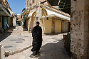 Jerusalem - Father Columba Stewart roams in the streets of the Old City on his way to his meetings with various library owners.<br /> A monk since 1982, Stewart studied at Harvard, Yale and Oxford, obtaining an A.B. in History and Literature, an M.A. in Religious Studies and a Doctorate of Philosophy. He is professor of theology at Saint John's University.