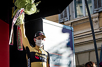 3rd finisher Wout van Aert (BEL/Jumbo-Visma)<br /> <br /> 112th Milano-Sanremo 2021 (1.UWT)<br /> 1 day race from Milan to Sanremo (299km)<br /> <br /> ©kramon